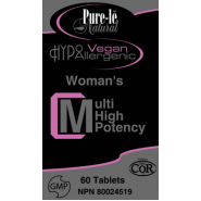 Womans VEGAN Multi Vitamin High Potency!